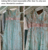 Prom/Pageant Dress in Byron, Georgia