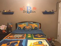 Kids truck bedding and room decor in Warner Robins, Georgia