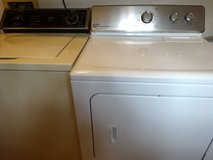 Maytag Dryer and Whirlpool Washer in Bellaire, Texas