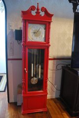 Red Grandfather Clock - Pending in Okinawa, Japan