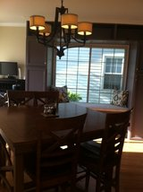"Quality Wood Dinette ""Hi-Boy"" Table and 6 chairs  JUST REDUCED FOR QUICK SALE! in Bolingbrook, Illinois"
