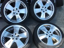 19inch (Used rims and new tire set)1 in Okinawa, Japan