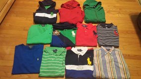 lot of 39pc. ralph lauren boy clothes-size 14/16 in Wilmington, North Carolina