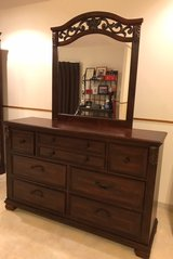Dresser with mirror in Okinawa, Japan