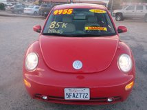 "2004 VOLKSWAGEN NEW BEETLE GLS TURBO 4CLY AUTO "" 85K MILES ONLY "" FULLY LOADED ....$4900 in 29 Palms, California"