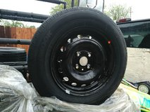 Set of 4 rims & tires 4lug in Vacaville, California