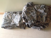 Lot of Military ABU Tops and Bottoms in Okinawa, Japan