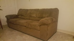Microfiber couch in Fort Polk, Louisiana