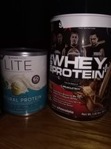Protein Powders 2 canisters! in Yucca Valley, California