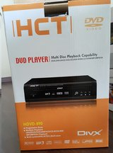 HCT HDVD-890 DVD/MPEG4/VCD/MP3 PLAYER in Ansbach, Germany
