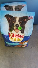 2 bags of Kibbles and Bits Dog Food in Byron, Georgia