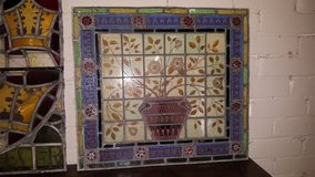 Stained Glass Panel in Lakenheath, UK