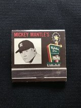 1960 Mickey Mantle Matchbook in Westmont, Illinois