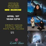 Star Wars mini session in Lockport, Illinois
