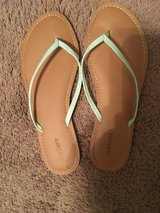 Old Navy Green Sandals [9] in Beaufort, South Carolina