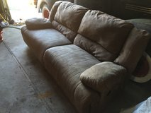 Reclining Couch with Coffee and End Tables in Camp Lejeune, North Carolina