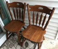 Oak Dinette Chairs in Lockport, Illinois