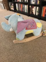 Elephant rocker in Vacaville, California