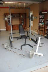 Weight Machine, Dual Power Axis, weights/bars included in Byron, Georgia