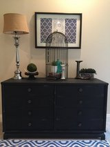 Solid wood 8 drawer dresser/buffet/tv stand in Fort Polk, Louisiana
