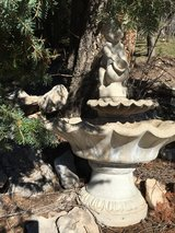 Birdbath fountain - concrete in Alamogordo, New Mexico