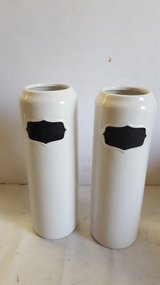 """Threshold Stoneware Storage Canisters 12"""" in Cleveland, Texas"""
