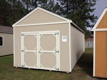 12x32 WIRED Utility Storage Building Shed DISCOUNTED!!! in Valdosta, Georgia