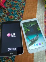 LG and Samsung tablet in Fort Knox, Kentucky