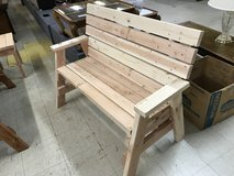 Bench,2x4 white pine with arms in Alexandria, Louisiana