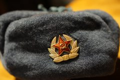 Real Soviet Union hat in Ramstein, Germany