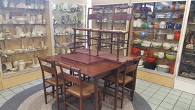 DROPLEAF DINING ROOM TABLE & 6 CHAIRS in Camp Lejeune, North Carolina