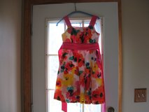 Girls Size 14 Spring/Summer Floral Dress in Bartlett, Illinois