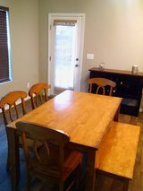 Dining Room table set in Fort Carson, Colorado
