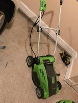 Electric corded lawn mower and weed eater in Fort Gordon, Georgia