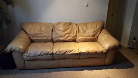Leather Sofa in Gloucester Point, Virginia
