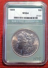 1889 NTC MS64 Morgan Dollar in Fort Leonard Wood, Missouri