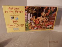 "Brand New 300 piece puzzle ""Autumn On The Porch"" in Joliet, Illinois"