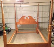 Queen size bed frame in Fort Irwin, California