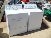 -----  Kenmore Washer + 220v Dryer  ----- in 29 Palms, California
