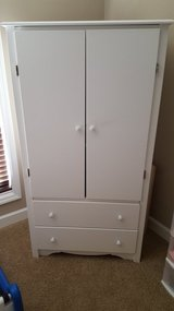 White Armoire in Fort Rucker, Alabama