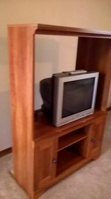 Entertainment center and tv in Chicago, Illinois