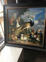 Stunning Reproduction Peacock and Peahen Melchior de Hondecoeter in Cleveland, Ohio