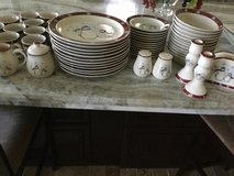 56 pc Snowmen Dishes in Kingwood, Texas