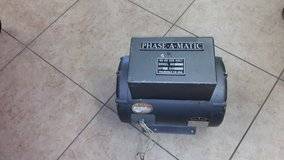 Rotary phase converter in 29 Palms, California