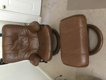 Reclining chair with leg rest (as is) in Vacaville, California