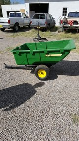 John Deere trailer in Alamogordo, New Mexico
