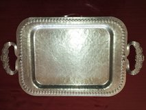 VINTAGE HAMMERED SERVING TRAY in Algonquin, Illinois