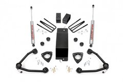 NEW IN BOX 3.5IN GM SUSPENSION LIFT KIT W/UPPER CONTROL ARMS + new BILSTEIN front shocks + NEW W... in Fort Benning, Georgia