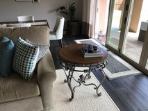 Matching coffee and side table in Vista, California
