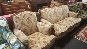 FRENCH FLORAL CHAIR in Camp Lejeune, North Carolina